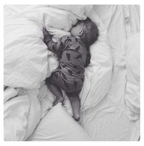 Co-sleeping avec bébé
