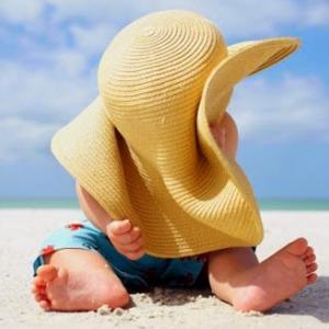 Comment occupé son bébé à la plage