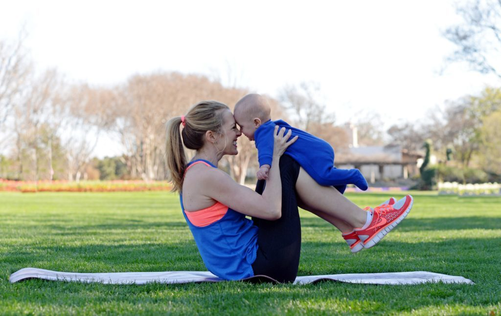 Faire une activité avec bébé