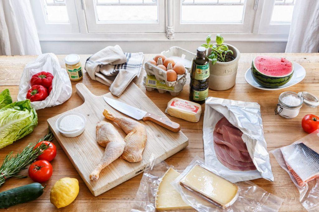 Mom mag instant food, Simple et bon : le site de recettes qui fait les courses