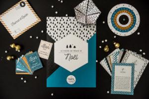 Mom Mag, calendrier de l'avent original : une chasse au trésor Happy Kits