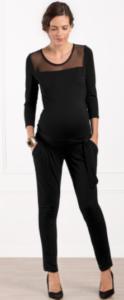 Tenue de fête pour femme enceinte : la combinaison Envie de Fraise