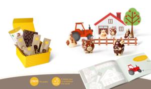 Ma Jolie Epicerie x Mom Mag : préparer une ferme en chocolat