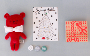 Mom Mag : idée cadeau de Noël 2017 : box en édition limitée Ma Première Box Gaspard