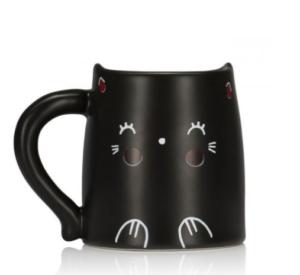 Bonne idée cadeau de Noël 2017 : un mug thermoactif chat