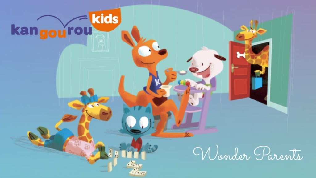 Wonderparents x Kangourou kids