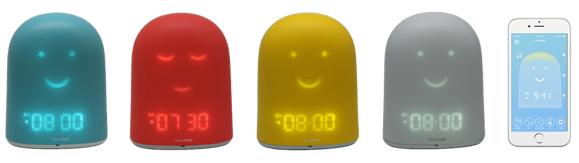 Besoin d'une idée cadeau de noël enfant par l'équipe du Mom Mag : le réveil Rémy de Urban Hello