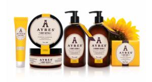 Découvrez dans la box Maman et moi la crème pour les mains de la gamme Pampas Sunrise de Ayres ! Mom Mag