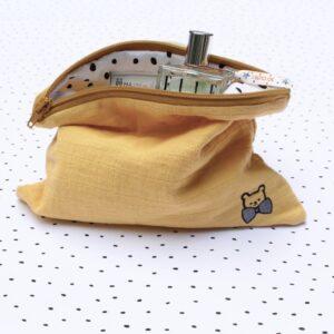 Mom mag : découvrez les petites pochettes moutarde