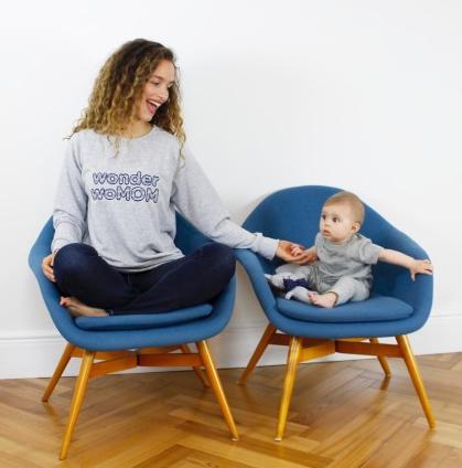 Mom Mag : idée cadeau maman : sweat wonderwomom Alfred Ma Première Box