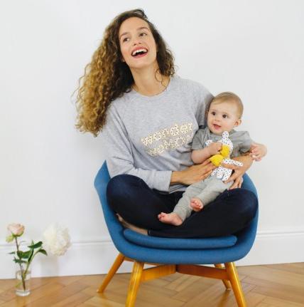 Idée cadeau : sweat wonderwomom René Ma Première Box - Mom Mag