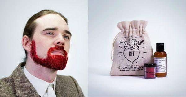 Mom Mag : une barbe à paillettes pour la Saint Valentin ?