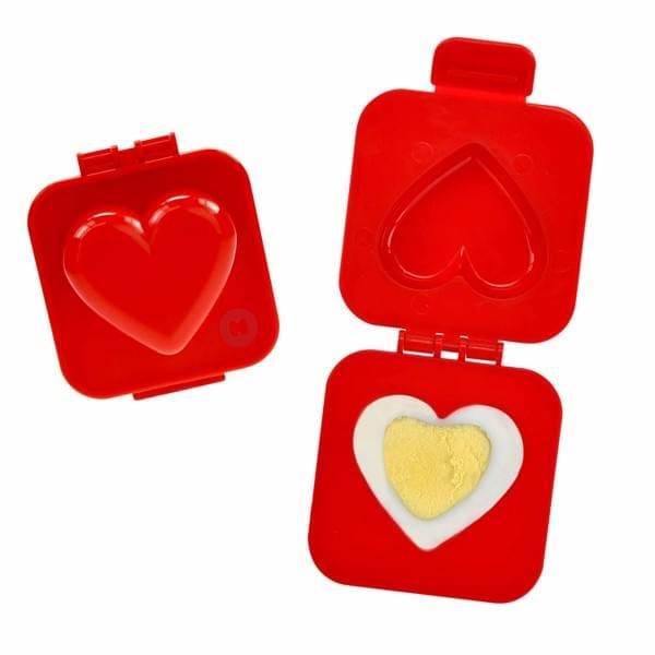 Mom Mag : un moule à oeuf en forme de coeur pour sa chérie ? Saint-Valentin