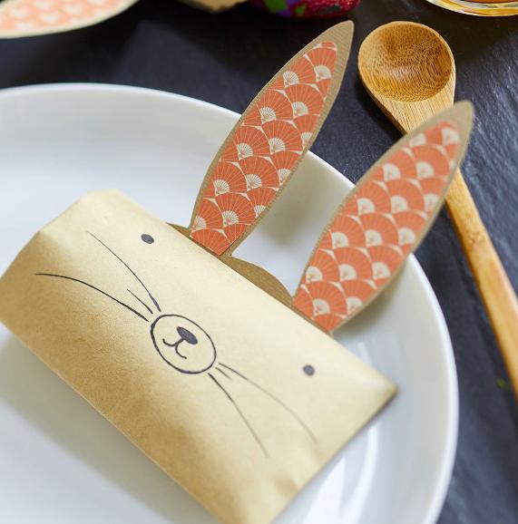 Mom Mag : DIY pochette lapin