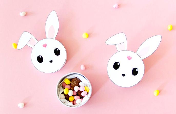 Mom Mag : petite boîte lapin DIY