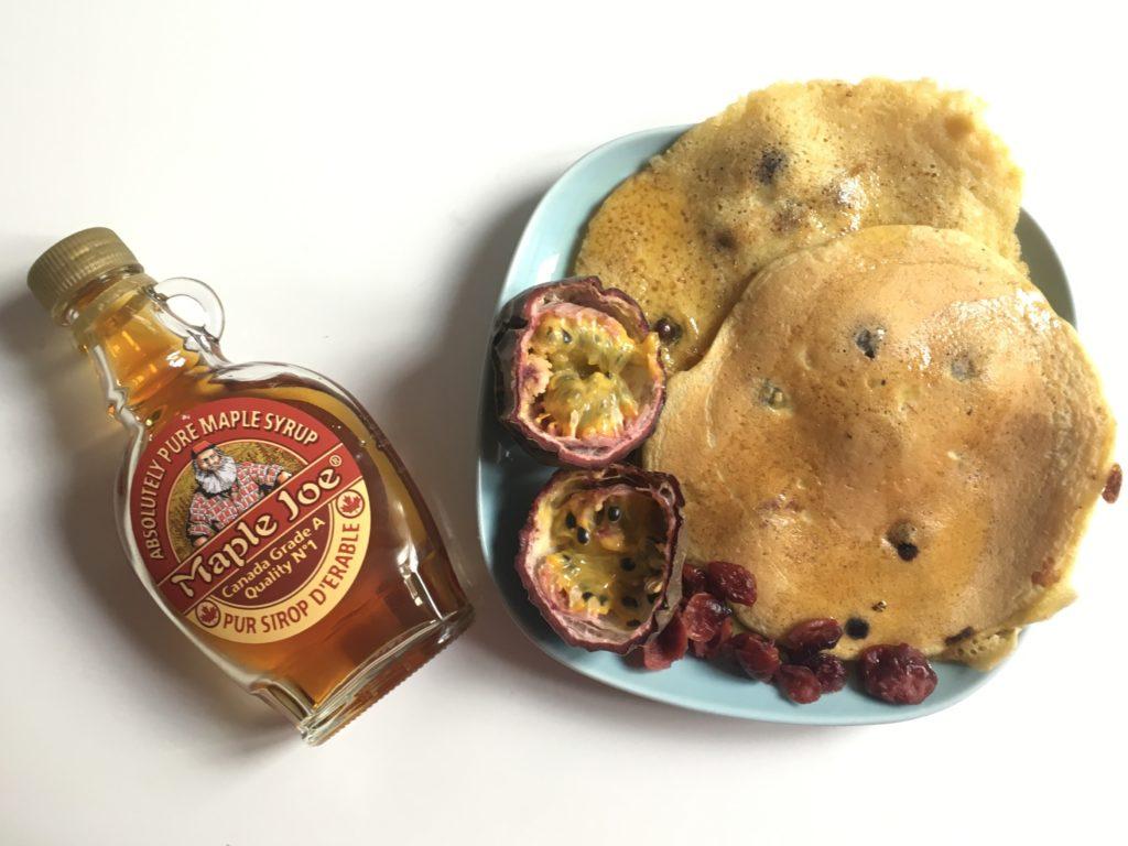 Idée recette : pancakes aux myrtilles ! Journal Maman + Moi