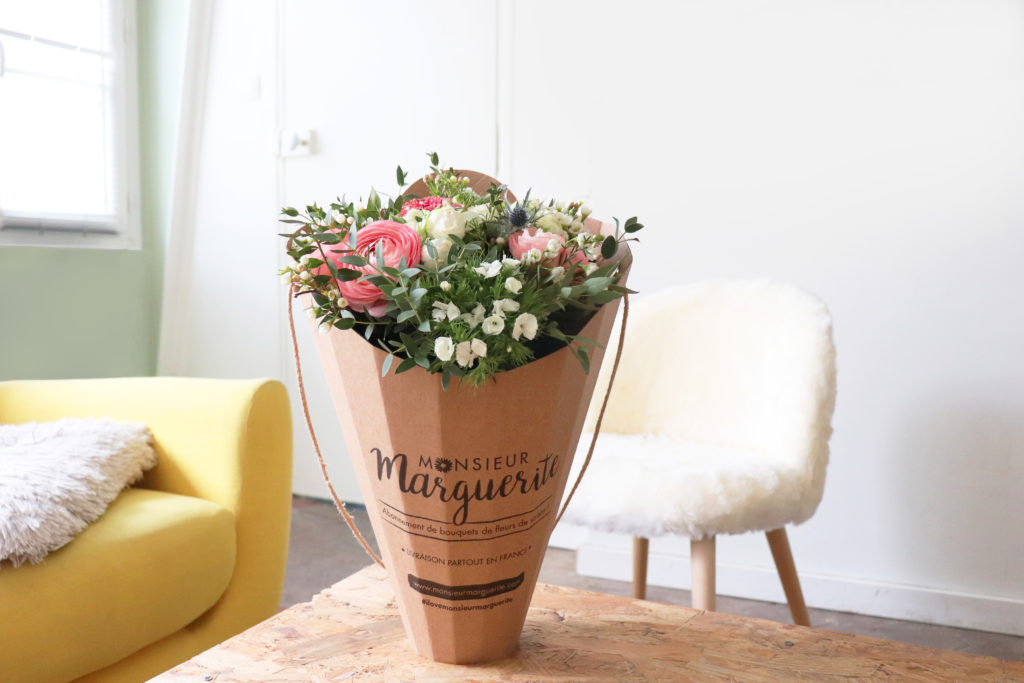 Monsieur Marguerite : chaque mois un bouquet surprise ! Mom Mag