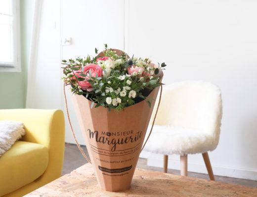 Monsieur Marguerite : chaque mois un bouquet surprise ! Mom Mag