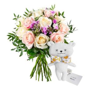 Collaboration Au nom de la rose x Ma Première Box Mom Mag