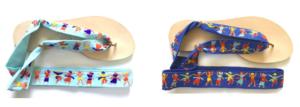 Découvrez les sandales Nupié avec le Mom Mag