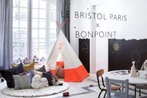 Mom Mag : collaboration Le Bristol Paris x Bonpoint
