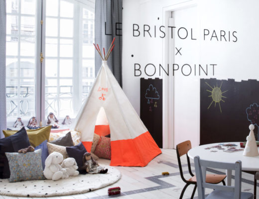 Mom Mag : collaboration Le Bristol Paris x Bonpoint