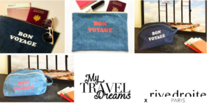 Mom Mag : les pochettes My Travel Dreams et Rive Droite