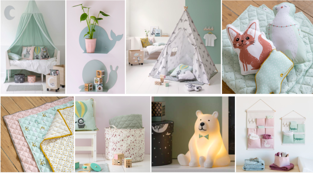 Mom Mag : collection Sostrene Grene décoration enfant